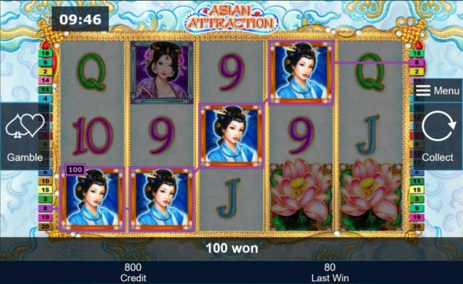 Asian Attraction :: A winning Four of a Kind.