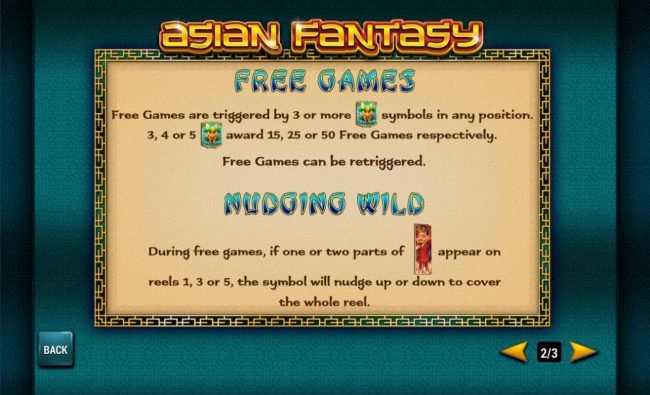 Titanbet.it featuring the Video Slots Asian Fantasy with a maximum payout of $30,000