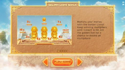 golden lion bonus feature game rules