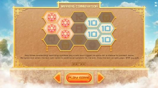 winning combinations and game rules