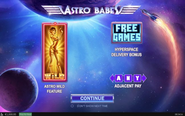 Play slots at Sky Kings: Sky Kings featuring the Video Slots Astro Babes with a maximum payout of $500,000