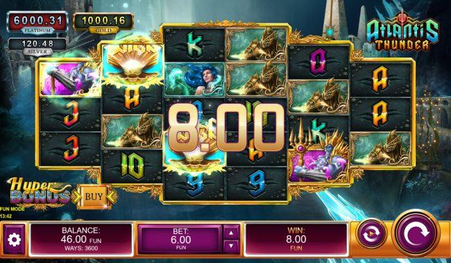 Atlantis Thunder :: A winning three of a kind