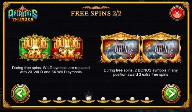Atlantis Thunder :: Free Spins Rules