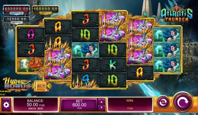 Atlantis Thunder :: Main Game Board