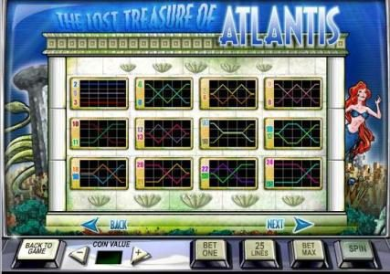 Video Poker Classic featuring the Video Slots Atlantis with a maximum payout of $50,000