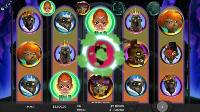 Goodwin Casino featuring the Video Slots Attack of the Zombies with a maximum payout of $7,500