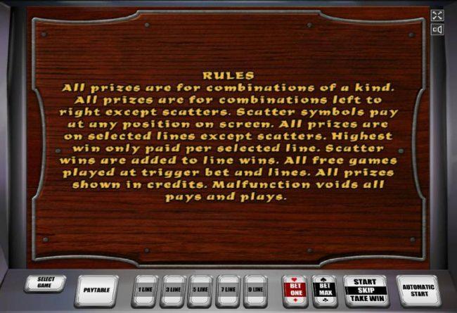 Attila :: General Game Rules