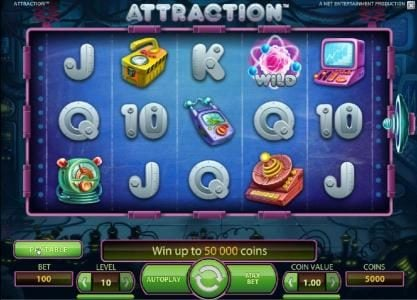 Spinzilla featuring the Video Slots Attraction with a maximum payout of $5000