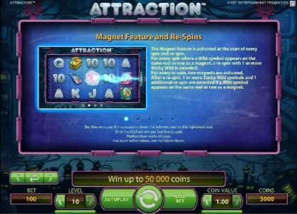 7Red featuring the Video Slots Attraction with a maximum payout of $5000