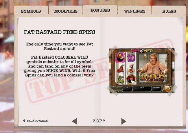 fat Bastard Free Spins