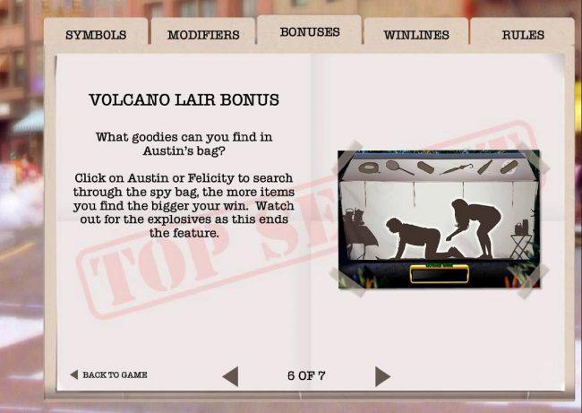 Volcano Lair Bonus