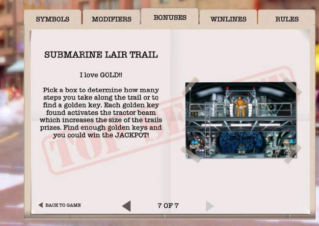Submarine Lait Trail
