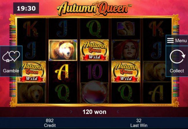 Autumn Queen :: A winning Four of a Kind.