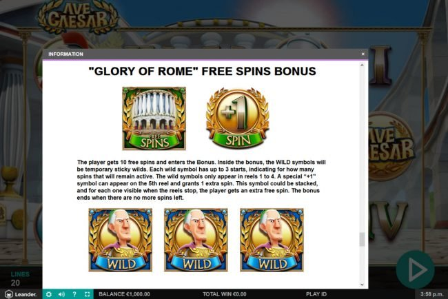 Free Spins Rules