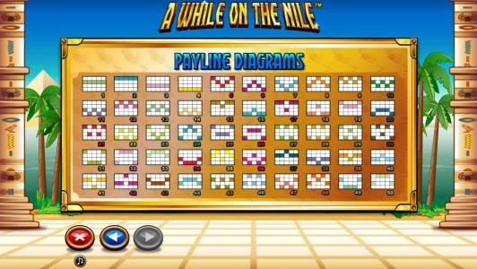 Leo Vegas featuring the Video Slots A While on the Nile with a maximum payout of $41,250