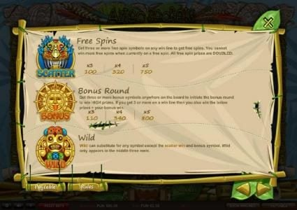 Play slots at Noxwin: Noxwin featuring the Video Slots Aztec Secrets with a maximum payout of ?22,500