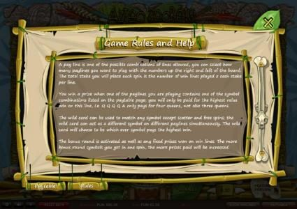 Diamond Club VIP featuring the Video Slots Aztec Secrets with a maximum payout of £22,500