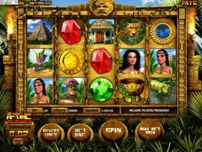 Play slots at Sports and Casino: Sports and Casino featuring the Video Slots Aztec Treasures 3D with a maximum payout of $7,500