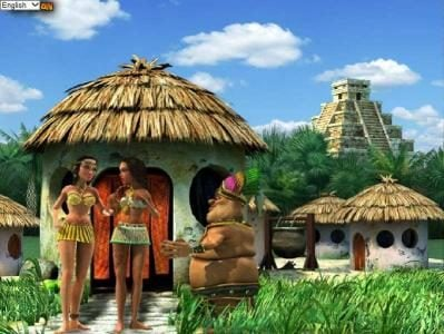 Money Storm featuring the Video Slots Aztec Treasures 3D with a maximum payout of $7,500