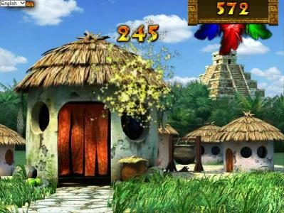 Aztec Treasures 3D :: after accepting your gift the girls will enter the love hut where you will be awarded prizes