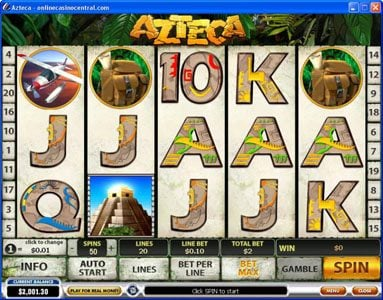 Play slots at Vernons: Vernons featuring the Video Slots Azteca with a maximum payout of $50,000