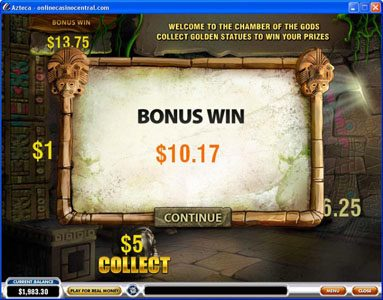 Casino Las Vegas featuring the Video Slots Azteca with a maximum payout of $50,000