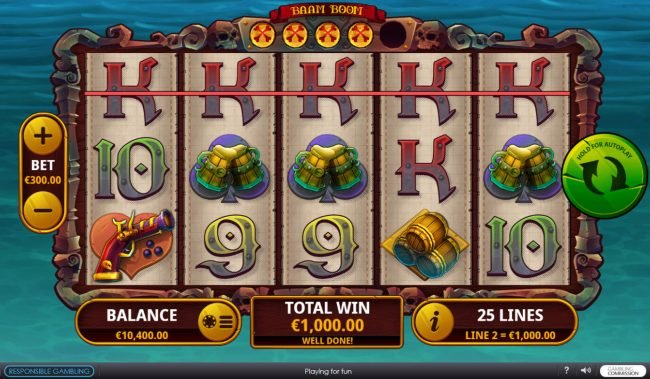 Baam Boom :: A winning five of a kind