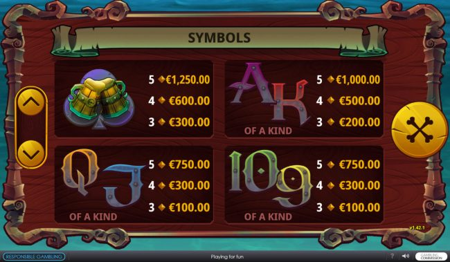 Baam Boom :: Low Value Symbols
