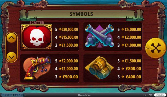 Baam Boom :: High Value Symbols