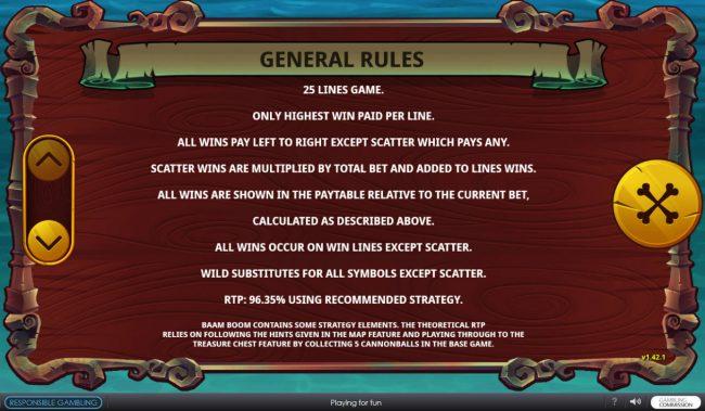 Baam Boom :: General Game Rules
