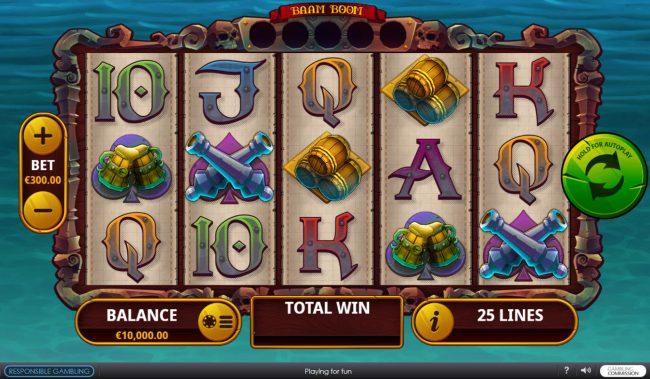 Baam Boom :: Main Game Board