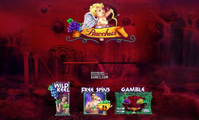 All Wins Casino featuring the Video Slots Bacchus with a maximum payout of $75,000