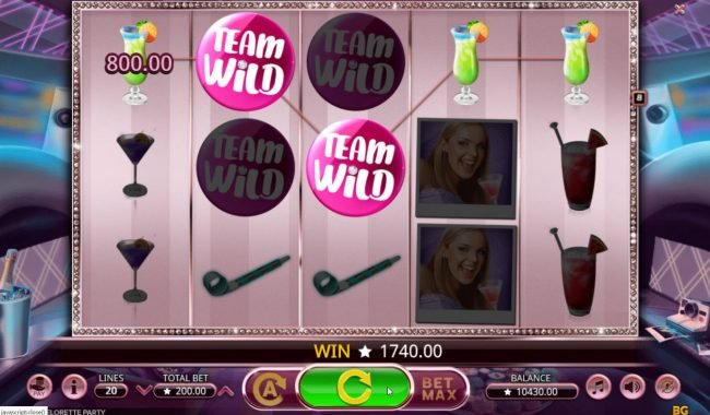 Viggoslots featuring the Video Slots Bachelorette Party with a maximum payout of $400,000