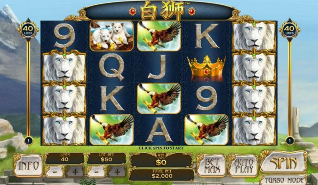 Play slots at EuroMax Play: EuroMax Play featuring the Video Slots Bai Shi with a maximum payout of $100,000