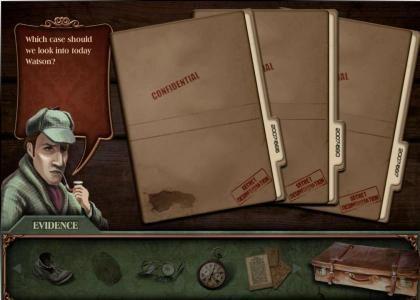 Baker Street :: investigation bonus - choose a case tp solve