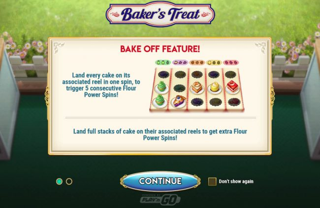 Baker's Treat :: Game Feature