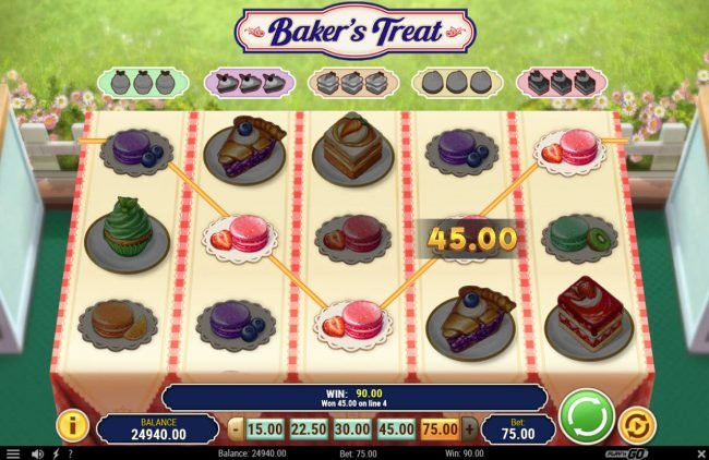 Baker's Treat :: Four of a kind