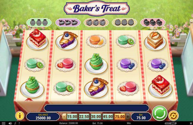 Baker's Treat :: Main Game Board