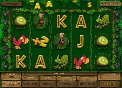 Play slots at Kings Chance: Kings Chance featuring the Video Slots Banana Jones with a maximum payout of $120,000