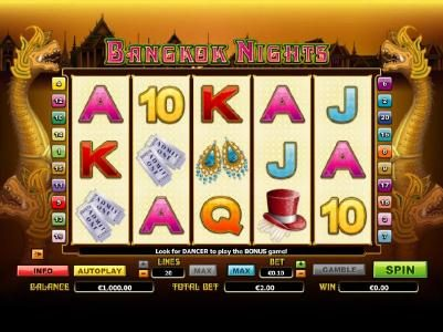 Play slots at Crystal: Crystal featuring the Video Slots Bangkok Nights with a maximum payout of $20,000