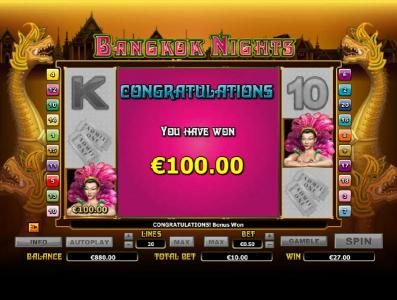 Jackpot City featuring the Video Slots Bangkok Nights with a maximum payout of $20,000