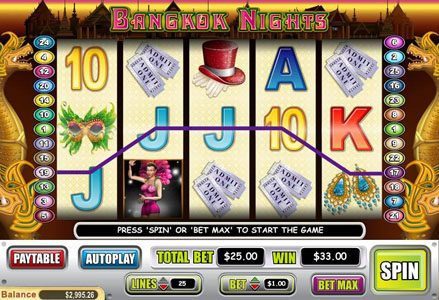 Red Stag featuring the Video Slots Bangkok Nights with a maximum payout of $100,000