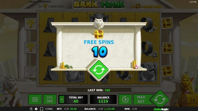 Bank or Prank :: 10 Free Games awarded.