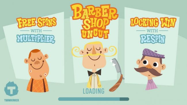 Come On featuring the Video Slots Barber Shop Uncut with a maximum payout of $1,500