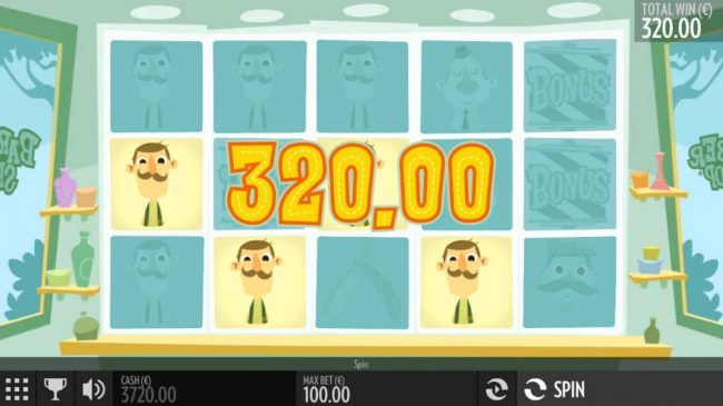 Argo featuring the Video Slots Barber Shop with a maximum payout of $4,000