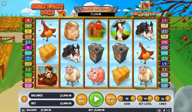 Barnstormer Bucks :: Main Game Board