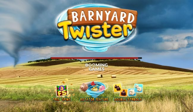 Play slots at Vegas Crest: Vegas Crest featuring the Video Slots Barnyard Twister with a maximum payout of $16,000