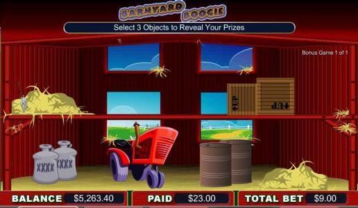 Play slots at Betchan: Betchan featuring the video-Slots Barnyard Boogie with a maximum payout of 4,000x