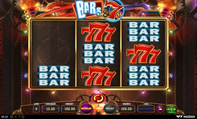 Play slots at Casino BTC: Casino BTC featuring the Video Slots Bar's & 7's with a maximum payout of $4,000