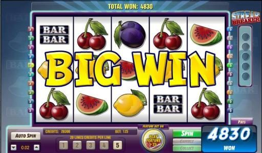 Queen Vegas featuring the Video Slots Bars and Bells with a maximum payout of $125,000